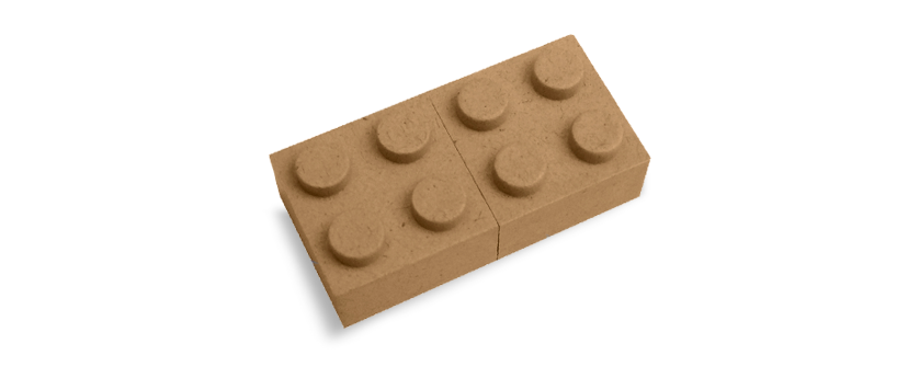 USB Paper Lego
