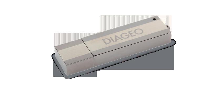 USB metaal monoliet