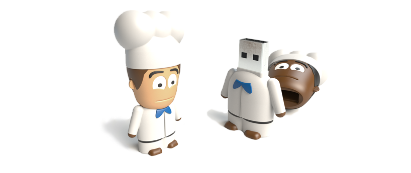 USB Character Chef