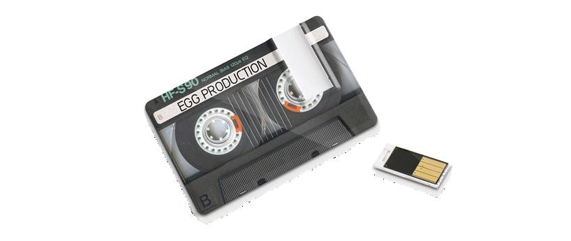 USB creditcard slide