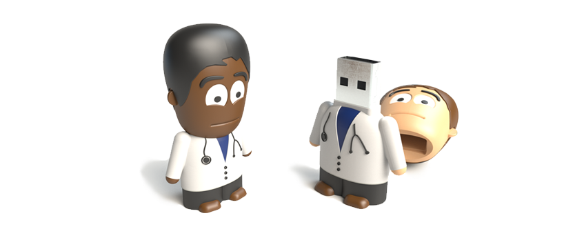 USB Character Doctor