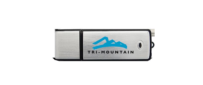 USB Klassieker aluminium